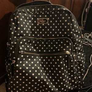 Kate Spade polka dot back pack